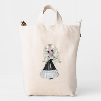 Blond Girl Princess BAGGU Duck Bag