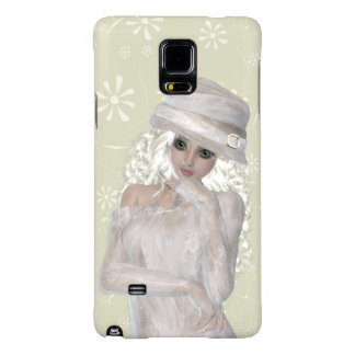 Blond Girl Samsung Galaxy Note 4, Barely There Galaxy Note 4 Case