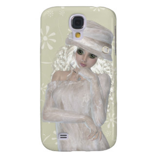 Blond Girl Samsung Galaxy S4, Barely There Galaxy S4 Case