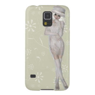 Blond Girl Samsung Galaxy S5, Barely There Galaxy S5 Case