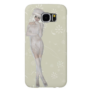 Blond Girl Samsung Galaxy S6, Barely There Case