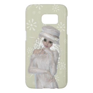 Blond Girl Samsung Galaxy S7, Barely There Case