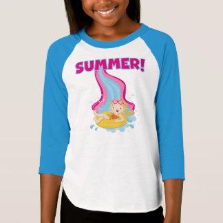 Blond Girl Summer T-Shirt