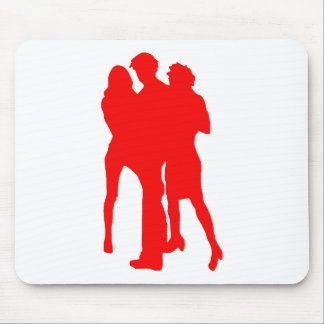 Blond girls mouse pad