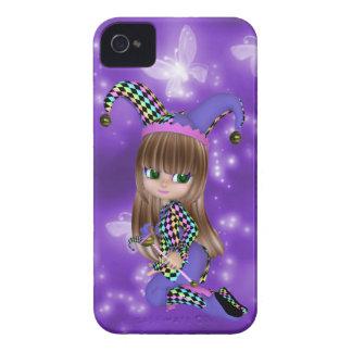 Blond Jester Girl Blackberry Case