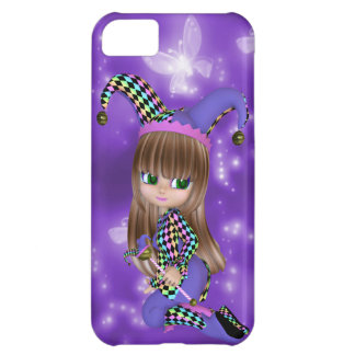 Blond Jester Girl iPhone Case Cover For iPhone 5C