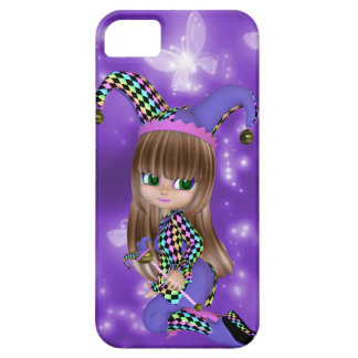 Blond Jester Girl iPhone Case iPhone 5 Cases