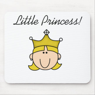 Blond Little Princess  Mouse Pad