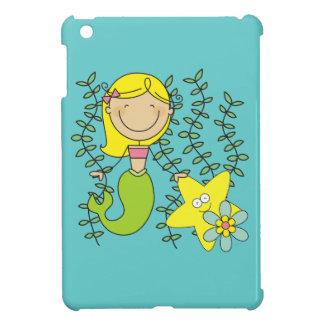 Blond Mermaid iPad Mini Cover