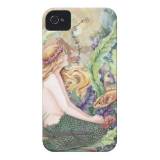 Blond Mermaid iPhone 4 Cover