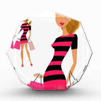 Blond model girl artwork award