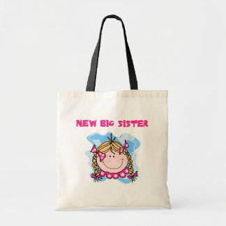 Blond New Big Sister Tshirts and Gifts Tote Bag