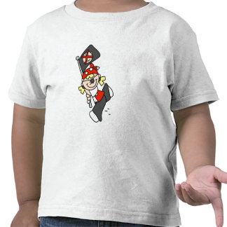 Blond Pirate With Flag Tshirts and Gifts
