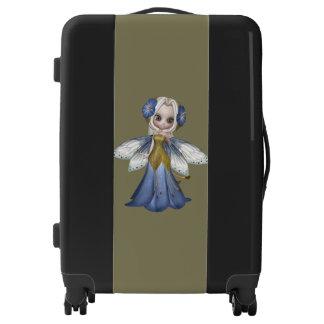 Blond Princess Fairy Girl Medium Sized Luggage
