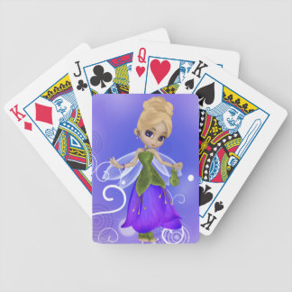 Blond Princess Playing Cards