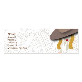 Blond - Skinny Business Card