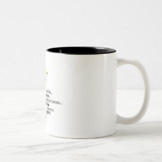 Blond Two-Tone Coffee Mug