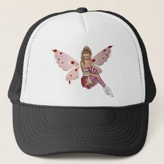 Blond Valentine Fairy - Pink 2 Trucker Hat