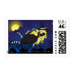 Blond witch stamp