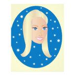 Blond Woman.ai Flyer