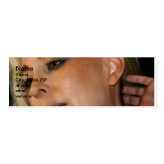 Blond Woman Business Cards