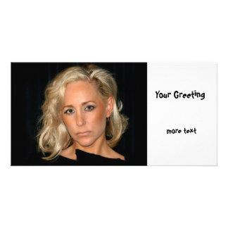 Blond Woman Card