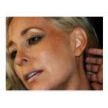 Blond Woman Postcard
