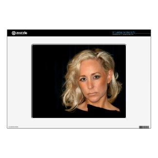 "Blond Woman 12"" Laptop Decals"