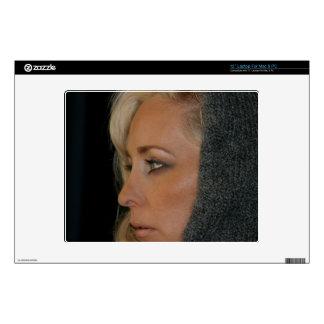 Blond Woman Laptop Decal