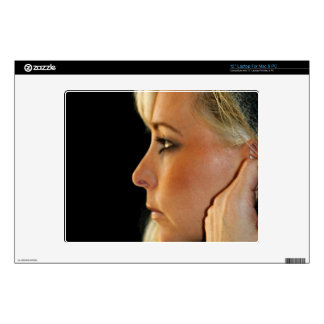 Blond Woman Skin For Laptop