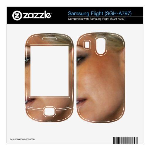 Blond Woman Skin For Samsung Flight