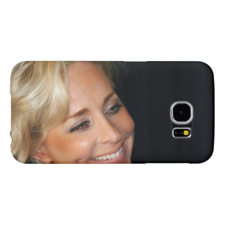 Blond Woman Smiling Samsung Galaxy S6 Case