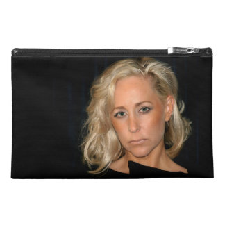 Blond Woman Travel Accessory Bags