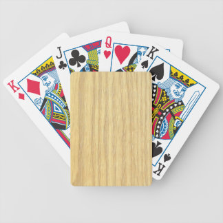 Blond Wood Playing Cards