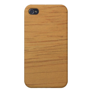 Blond Wood Texture iPhone 4 Cover