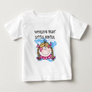 Blond World's Best Little Sister Tshirts