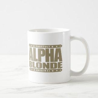 BLONDE ALFA - top de la cadena alimentaria Taza