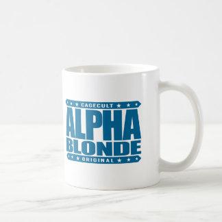BLONDE ALFA - top de la cadena alimentaria Taza Clásica