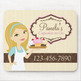 Blonde Baker Cupcake D12 Company Mousepad 1