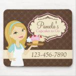 Blonde Baker Cupcake D12 Company Mousepad 3