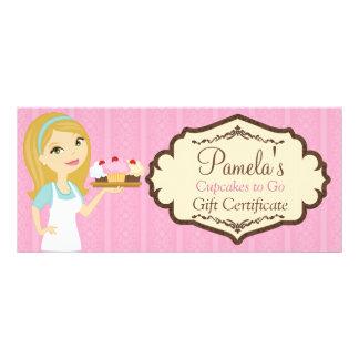 Blonde Baker Cupcake D12 Gift Certificate 2