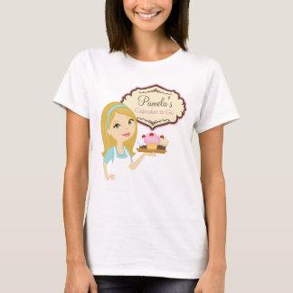 Blonde Baker Cupcake D12 T-Shirt Design 3