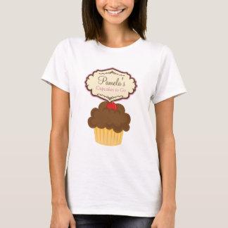 Blonde Baker Cupcake D12 T-Shirt Design 4