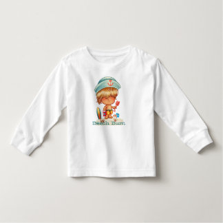 Blonde Beach Bum Toddler T-shirt