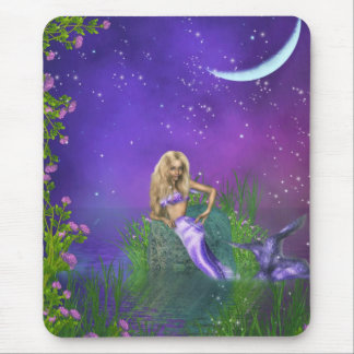 Blonde Beauty Mouse Pad