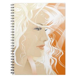 Blonde Beauty Notebook