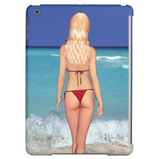 Blonde Bikini Beach Babe 2 iPad Air Case