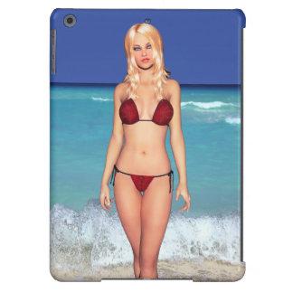 Blonde Bikini Beach Babe iPad Air Case