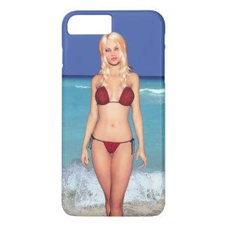 Blonde Bikini Beach Babe iPhone 8 Plus/7 Plus Case