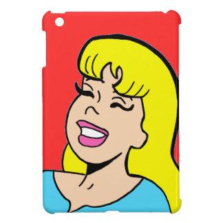 Blonde Bombshell Comic Strip iPad Mini Case